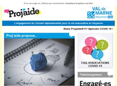 News Projaide#117 Spéciale COVID 19