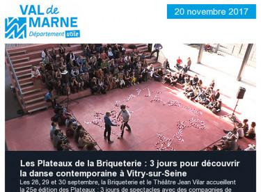 Les Plateaux de la Briqueterie / Egalité Femmes-Hommes / Jardins ouverts / Festi'Val de Marne / UPEDD