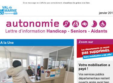 [Autonomie] Seniors/Handicap : nouvel espace autonomie / Aide Enfant Handicapé (AEEH) / Faire un bilan d'accès à ses droits avec