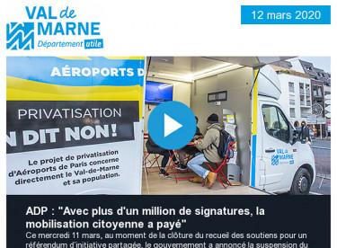 Privatisation d'Aéroports de Paris (ADP) : le gouvernement reporte son projet !