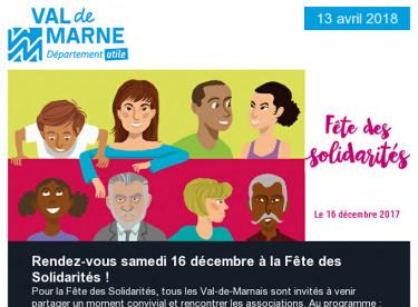 Fêtes des solidarités / Transports / Les Aventuriers / Handisport / Numérique