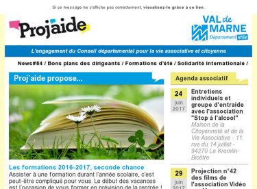 News#84 / Bons plans des dirigeants / Formations d'été / Solidarité internationale