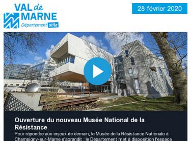 Le nouveau Musée de la Résistance Nationale ouvre ce samedi à Champigny-sur-Marne !