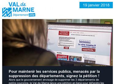 Signez la pétition pour défendre les services publics / Séance / Sorties / Cadre de vie / Semaine de l'énergie