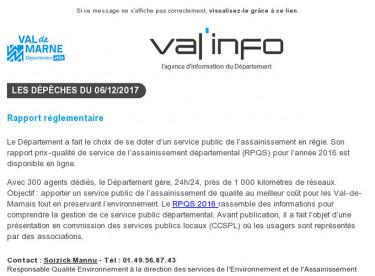 Val'info : 06/12/2017