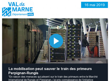 La mobilisation peut sauver le train des primeurs Perpignan - Rungis  / Du 22-26 mai, venez fêter la nature dans le Val-de-Marne