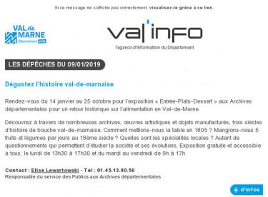 Val'info : 09/01/2019