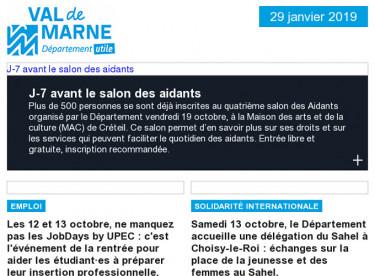 Salon des Aidants / JobDays by UPEC / Sahel / UPEDD : Smart City / Balade du goût / Téléval / Les entretiens d'Orbival