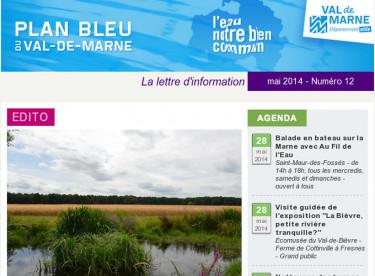 Plan bleu - Les mares dans le Val-de-Marne