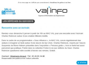 Val'info : 02/01/2019