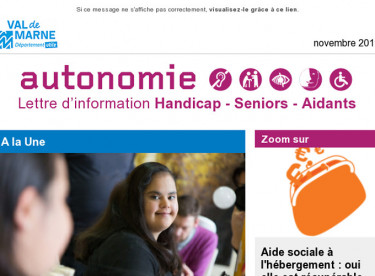 Newsletter Autonomie - Enquête MDPH  -CMI - Succession