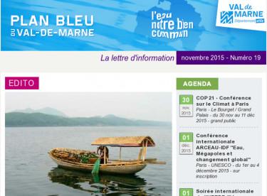 Plan bleu - La solidarité internationale liée à l'eau