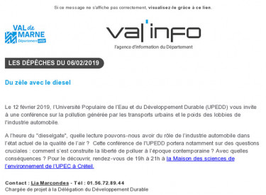 Val'info : 06/02/2019