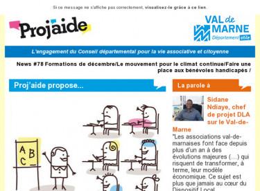 News #78 Formations de décembre/Le mouvement pour le climat continue/Faire une place aux bénévoles handicapés