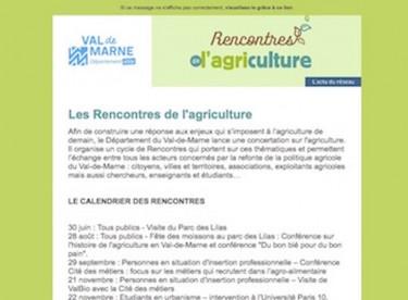Rencontres de l'agriculture