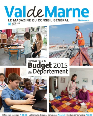 Couverture ValdeMarne Magazine n°321