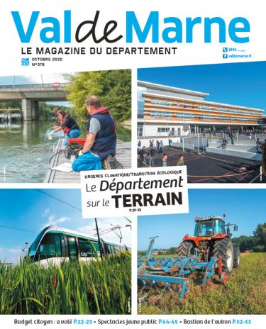 Magazine Val-de-Marne numéro 378 octobre 2020
