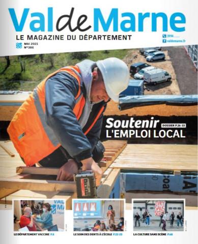 couverture du numéro 386 du magazine consacré à l'emploi