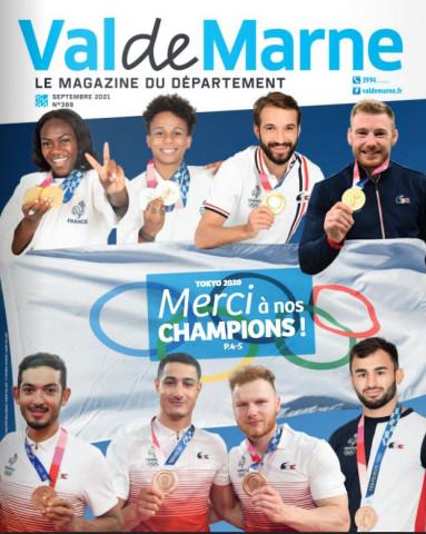 couverture du numéro 389 du magazine consacré aux jeux olympiques de TOkyo