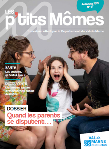 Couverture du magazine les p'tits Mômes numéro 57