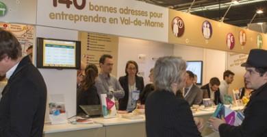 L'année dernière, le Salon des Entrepreneurs de Paris a accueilli 64 200 visiteurs les 5 et 6 février 2014. ©Jean Moulin